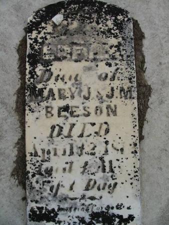 BEESON, EFFIE - Van Buren County, Iowa | EFFIE BEESON