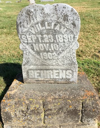 BEHRENS, WILLIAM - Van Buren County, Iowa | WILLIAM BEHRENS