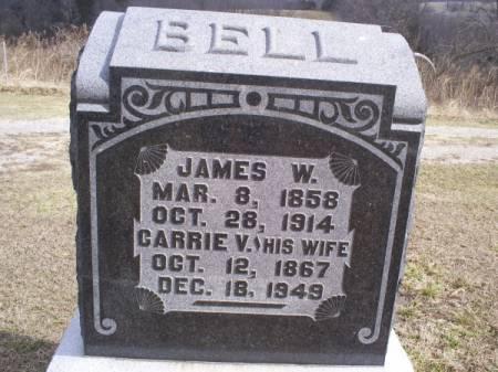 BELL, CARRIE V - Van Buren County, Iowa   CARRIE V BELL