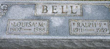 BELL, LOUISA MAY - Van Buren County, Iowa | LOUISA MAY BELL