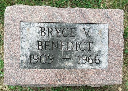 BENEDICT, BRYCE V - Van Buren County, Iowa | BRYCE V BENEDICT