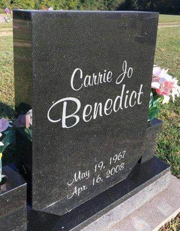BENEDICT, CARRIE JO - Van Buren County, Iowa   CARRIE JO BENEDICT