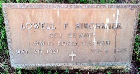 BIRCHMIER, LOWELL P - Van Buren County, Iowa | LOWELL P BIRCHMIER