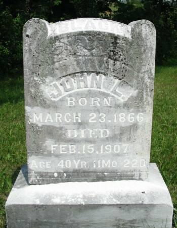 BLACK, JOHN L. - Van Buren County, Iowa | JOHN L. BLACK