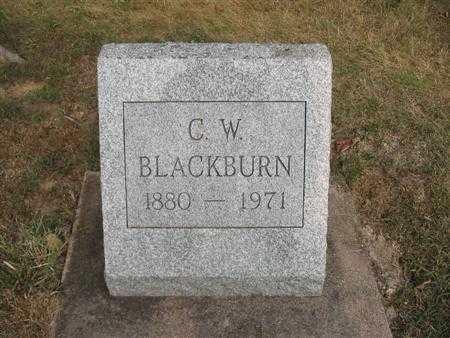 BLACKBURN, CLARENCE WILLIAM - Van Buren County, Iowa | CLARENCE WILLIAM BLACKBURN