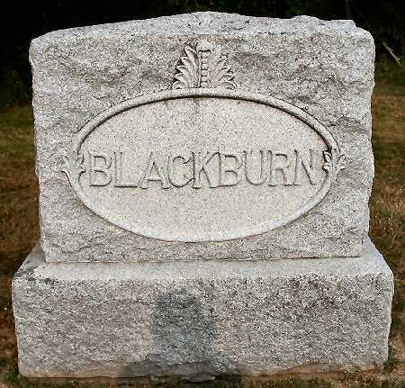 BLACKBURN, FAMILY MONUMENT - Van Buren County, Iowa | FAMILY MONUMENT BLACKBURN