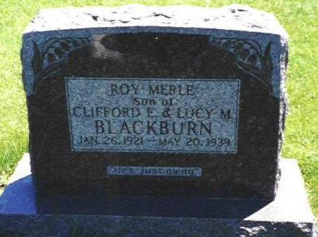 BLACKBURN, ROY MERLE - Van Buren County, Iowa | ROY MERLE BLACKBURN