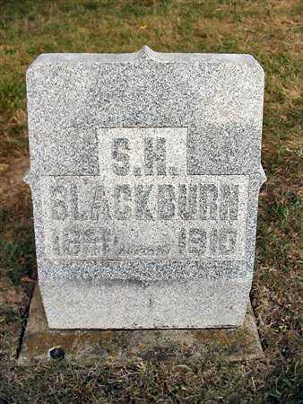 BLACKBURN, STEPHEN HENRY - Van Buren County, Iowa | STEPHEN HENRY BLACKBURN