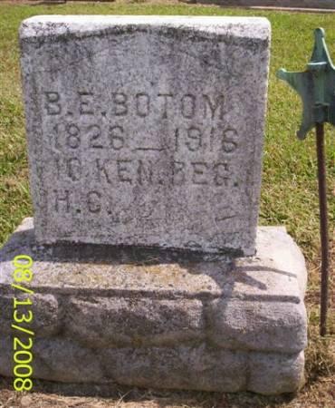 BOTTOM, BRADFORD E. - Van Buren County, Iowa | BRADFORD E. BOTTOM