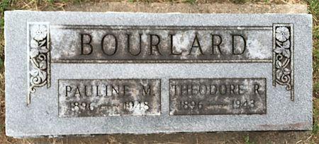 MARTIN BOURLARD, PAULINE M - Van Buren County, Iowa | PAULINE M MARTIN BOURLARD