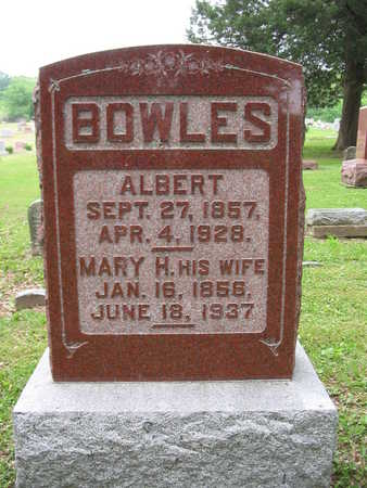 RUARK BOWLES, MARY H. - Van Buren County, Iowa | MARY H. RUARK BOWLES