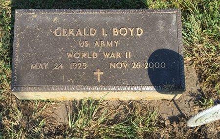 BOYD, GERALD L - Van Buren County, Iowa | GERALD L BOYD