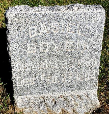 BOYER, BASIEL - Van Buren County, Iowa | BASIEL BOYER