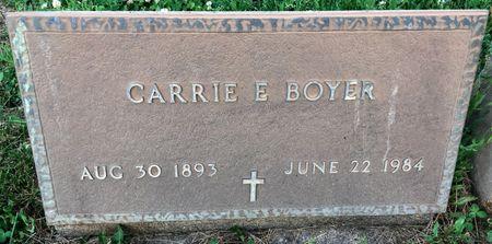 BOYER, CARRIE E - Van Buren County, Iowa | CARRIE E BOYER