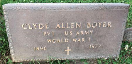 BOYER, CLYDE ALLEN - Van Buren County, Iowa | CLYDE ALLEN BOYER
