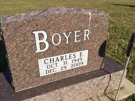 BOYER, CHARLES E - Van Buren County, Iowa | CHARLES E BOYER