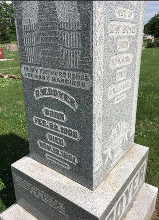 BOYER, D W - Van Buren County, Iowa | D W BOYER