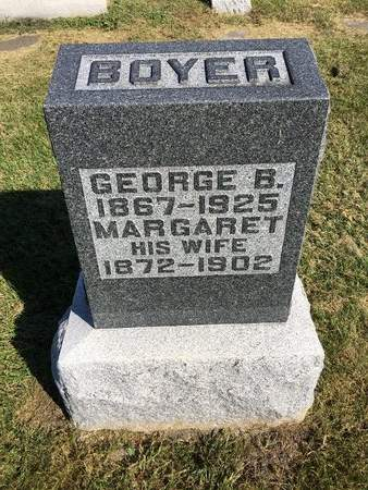 BOYER, MARGARET - Van Buren County, Iowa | MARGARET BOYER