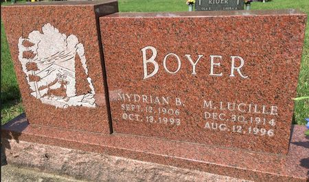 BOYER, M LUCILLE - Van Buren County, Iowa | M LUCILLE BOYER