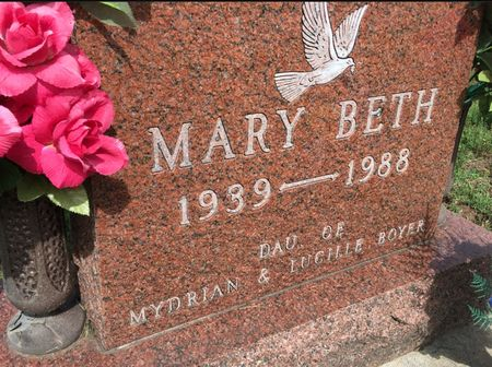 BOYER, MARY BETH - Van Buren County, Iowa | MARY BETH BOYER