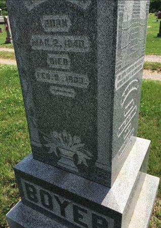 BOYER, S A - Van Buren County, Iowa | S A BOYER