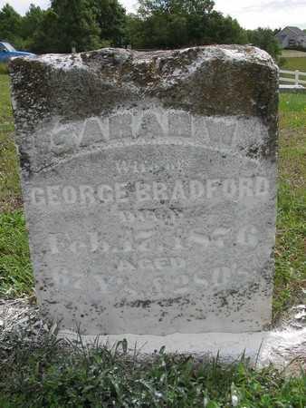 BRADFORD, SARAH W. - Van Buren County, Iowa   SARAH W. BRADFORD
