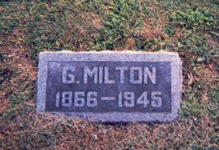 BRANNAN, G. MILTON - Van Buren County, Iowa | G. MILTON BRANNAN