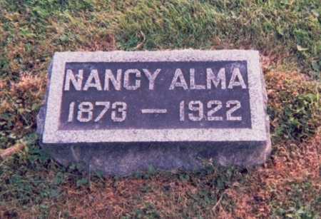 BRANNAN, NANCY ALMA - Van Buren County, Iowa | NANCY ALMA BRANNAN