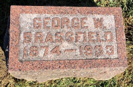 BRASSFIELD, GEORGE W - Van Buren County, Iowa | GEORGE W BRASSFIELD