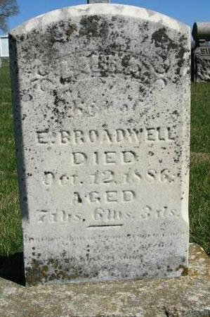 BROADWELL, LAURA - Van Buren County, Iowa | LAURA BROADWELL