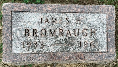 BROMBAUGH, JAMES H - Van Buren County, Iowa | JAMES H BROMBAUGH