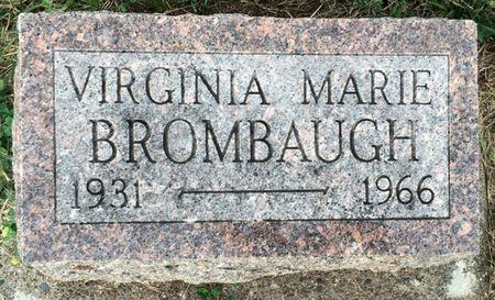 BROMBAUGH, VIRGINIA MARIE - Van Buren County, Iowa | VIRGINIA MARIE BROMBAUGH