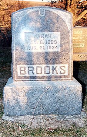 BROOKS, SARAH - Van Buren County, Iowa | SARAH BROOKS