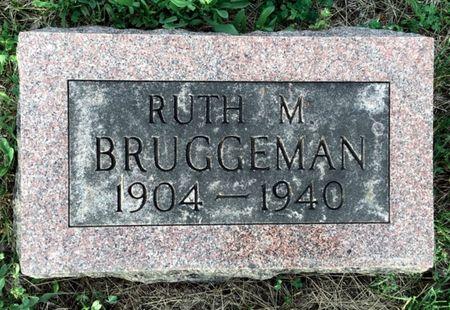 BRUGGEMAN, RUTH M - Van Buren County, Iowa | RUTH M BRUGGEMAN