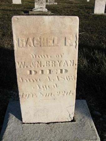 BRYAN, RACHEL E. - Van Buren County, Iowa | RACHEL E. BRYAN