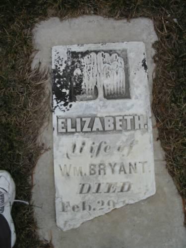 BRYANT, ELIZABETH - Van Buren County, Iowa | ELIZABETH BRYANT