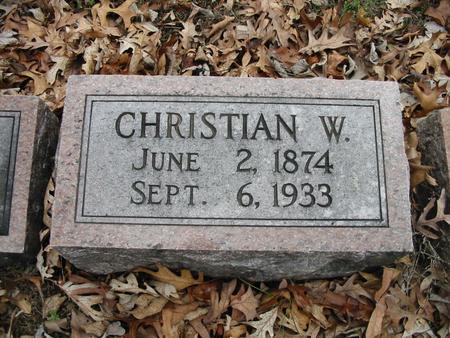 BUCHHOLZ, CHRISTIAN W. - Van Buren County, Iowa | CHRISTIAN W. BUCHHOLZ