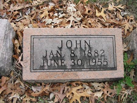 BUCHHOLZ, JOHN - Van Buren County, Iowa | JOHN BUCHHOLZ
