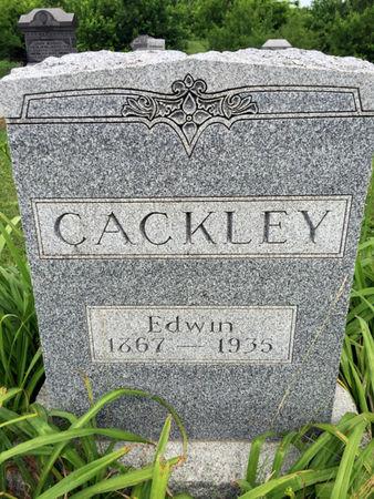 CACKLEY, EDWIN - Van Buren County, Iowa | EDWIN CACKLEY