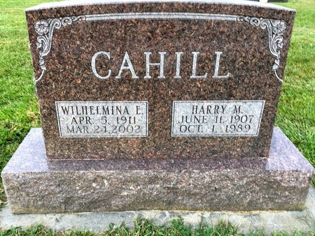 CAHILL, HARRY M - Van Buren County, Iowa | HARRY M CAHILL