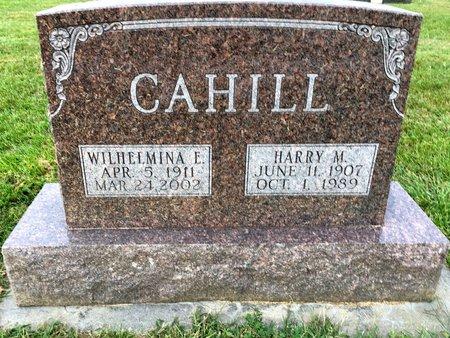 CAHILL, WILHELMINA E - Van Buren County, Iowa | WILHELMINA E CAHILL