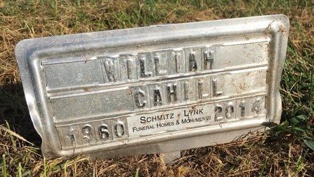 CAHILL, WILLIAM - Van Buren County, Iowa | WILLIAM CAHILL