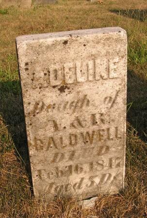 CALDWELL, ADELINE - Van Buren County, Iowa | ADELINE CALDWELL