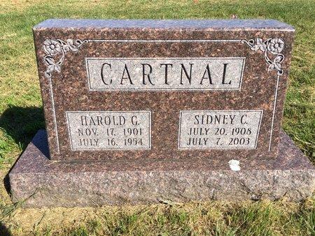 CARTNAL, HAROLD G - Van Buren County, Iowa | HAROLD G CARTNAL