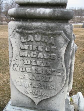 CASS, LAURA - Van Buren County, Iowa | LAURA CASS