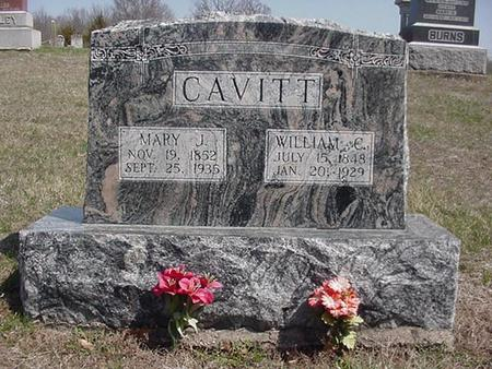 WILEY CAVITT, MARY - Van Buren County, Iowa | MARY WILEY CAVITT