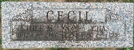 CECIL, CHAS. - Van Buren County, Iowa | CHAS. CECIL