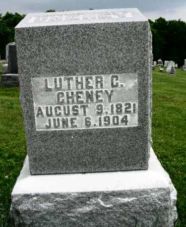 CHENEY, LUTHER C. - Van Buren County, Iowa | LUTHER C. CHENEY