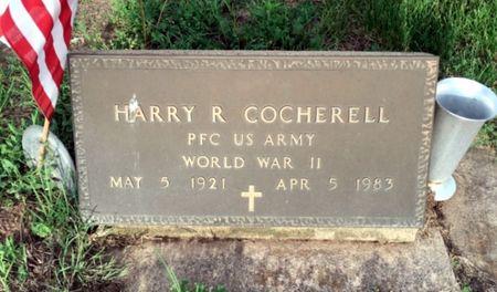 COCHERELL, HARRY R - Van Buren County, Iowa   HARRY R COCHERELL