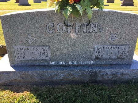 CRONIN COFFIN, MILDRED J - Van Buren County, Iowa | MILDRED J CRONIN COFFIN